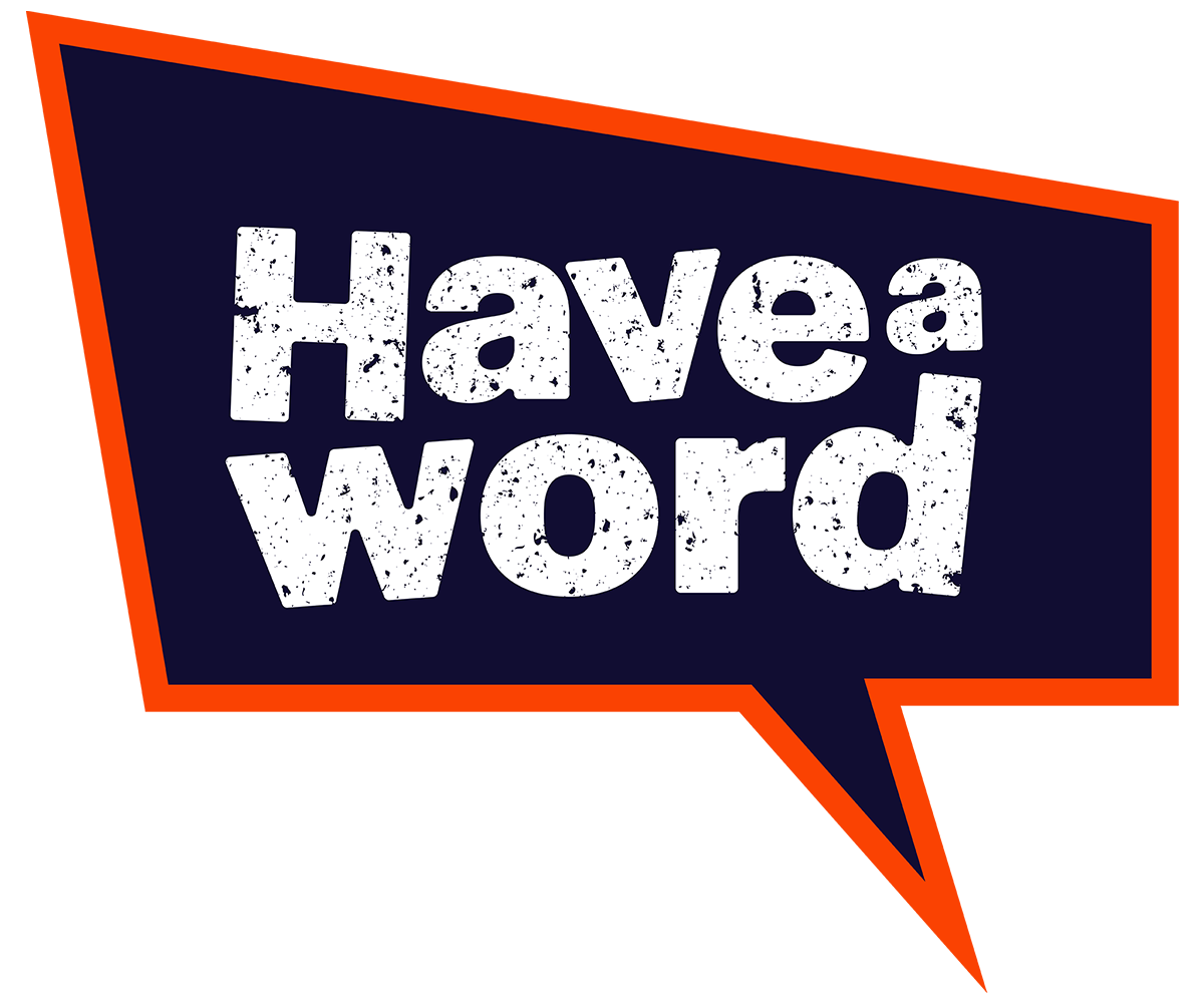 Have A Word Logo